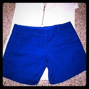 Royal blue Limited dress shorts